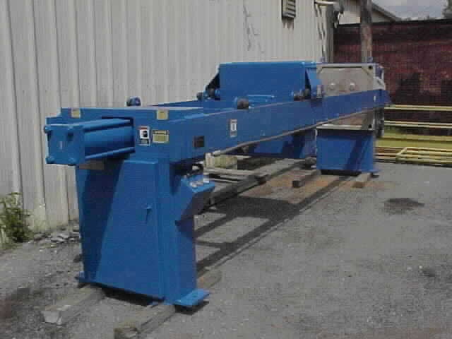 Filter Press - 30cu.ft. Expandable to 45 cu.ft. JWI